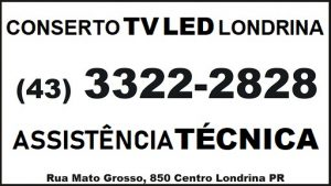 CONSERTO TV LED LONDRINA
